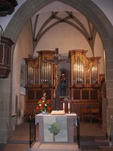 Chor der Oswaldkirche