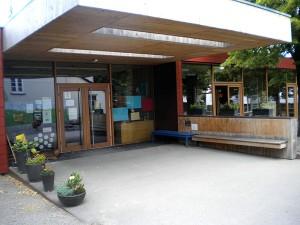 Der Eingangsbereich des Oswaldkindergartens
