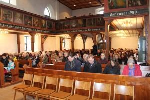 Gottesdienst in der Oswaldkirche