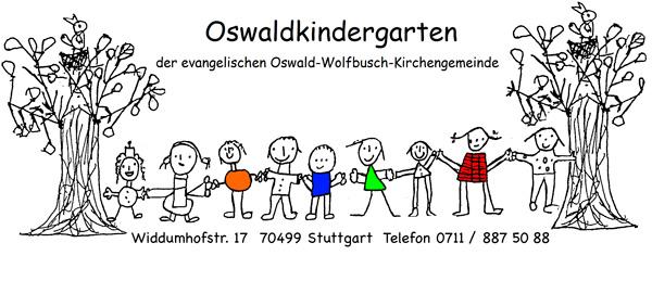 Logo des Oswald-Kindergartens in Weilimdorf