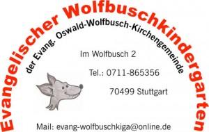 Logo des Evangelischen Wolfbuschkindergartens