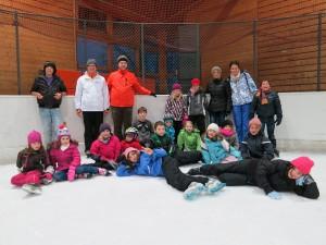 Ausflug des Kinderchor auf die Eiswelt am 12.Januar 2013