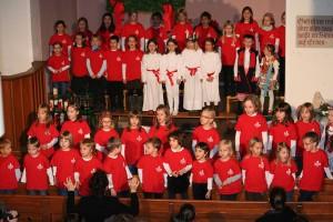 Auftritt des Wolfbusch-Kinderchor