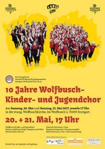10 Jahre Wolfbusch-Kinder-und Jugenchor!